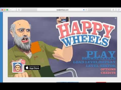 Happy Wheels: DAD DON'T SHAKE YOUR BUTT!
