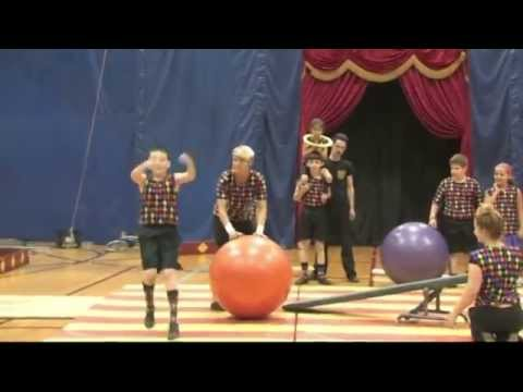Circus of the Kids at the Kaiserman JCC 2013