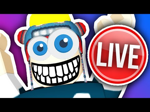 ROBLOX LIVE #2!!!  (..and pizza)