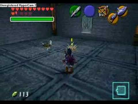 Legend of Zelda - Ocarina of Time - Water Temple (Pt 1)