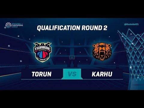 Polski Cukier Torun v Kahru Basket - Qual. Rd. 2 - Full Game - Basketball Champions League 2019