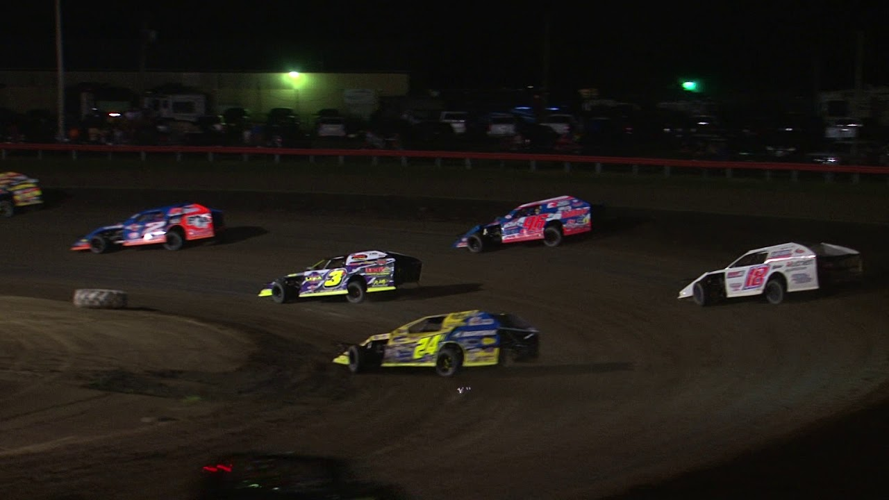 DIRTcar Summer Nationals Modifieds Farmer City July 5, 2019