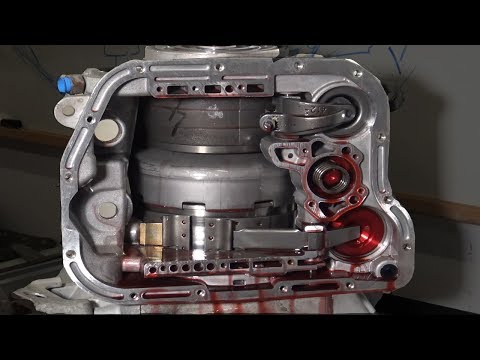 Taking apart a diesel transmission #dodge48re