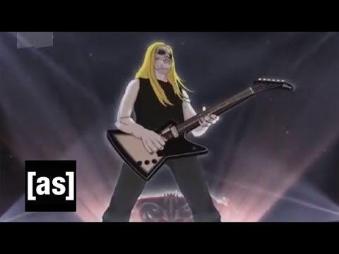 Guitar Solo Strife | Metalocalypse | Adult Swim