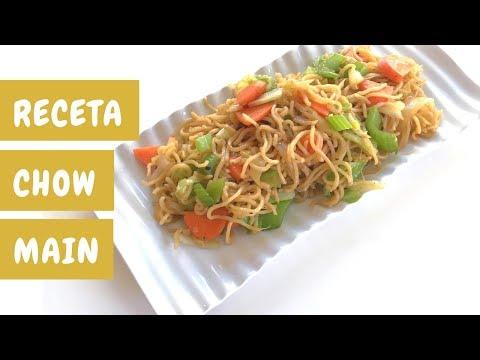 Cómo Hacer Noodles Chow Mein { Estilo Panda Express }