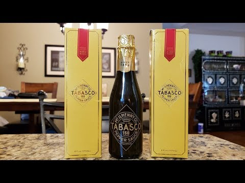 "Tabasco 150th Anniversary ""Diamond Reserve"" Red Pepper Sauce Review"