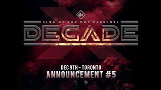 KOTD #DECADE: Announcement #5