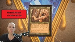 Hermit druid combo techs