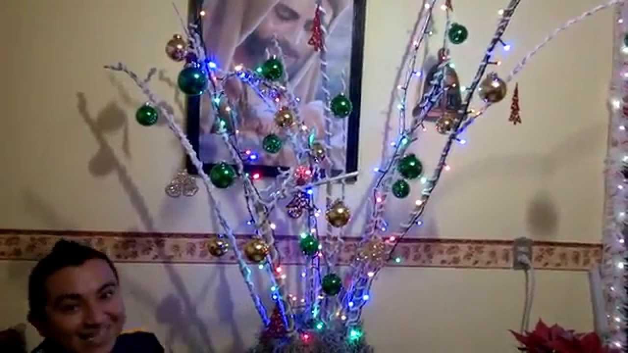 Rbol de navidad con ramas secas marco yazz segunda parte - Ramas de arboles ...