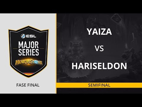 HS - Yaiza vs. HariSeldon - Semifinal - ESL Major Series Hearthstone Finals