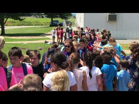 Lake Norman elementary school 5th grade Clap Out