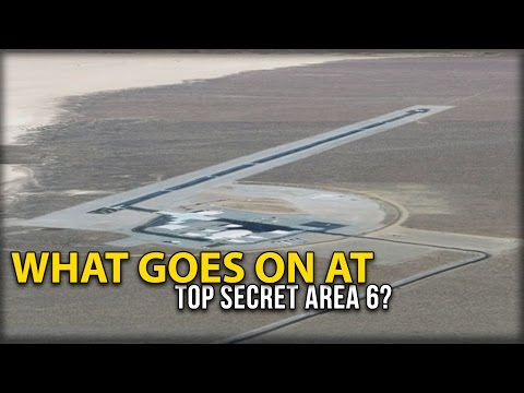 WHAT GOES ON AT TOP SECRET AREA 6?