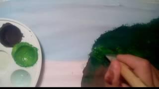 Водопад Виктория рисуем гуашью.(Всем Привет ребят ! Сегодня я и моя подруга Алина будем рисовать водопад Виктория гуашью. Извините если..., 2017-01-19T11:48:49.000Z)