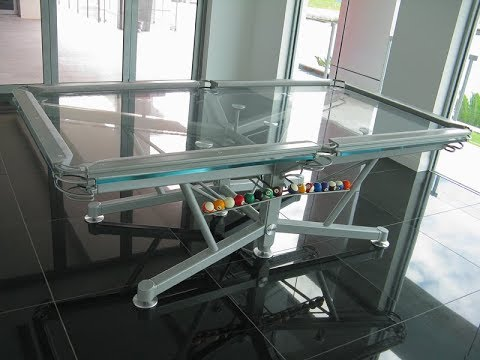 G 1 Glass Top Pool Table By Elite Innovations