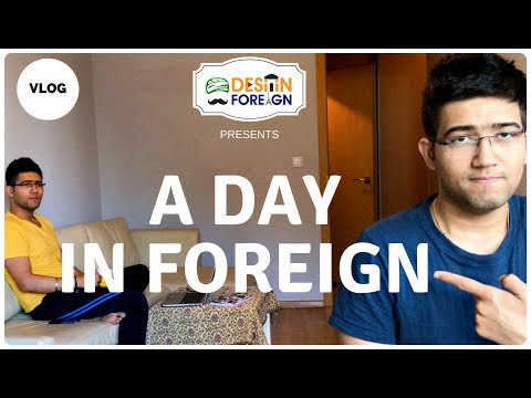 A DAY IN EUROPE | Daily Work Life | Desi in Foreign | VLOG J