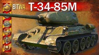 T-34-85M - 9 lat i medal Poola - BITWA - World of Tanks