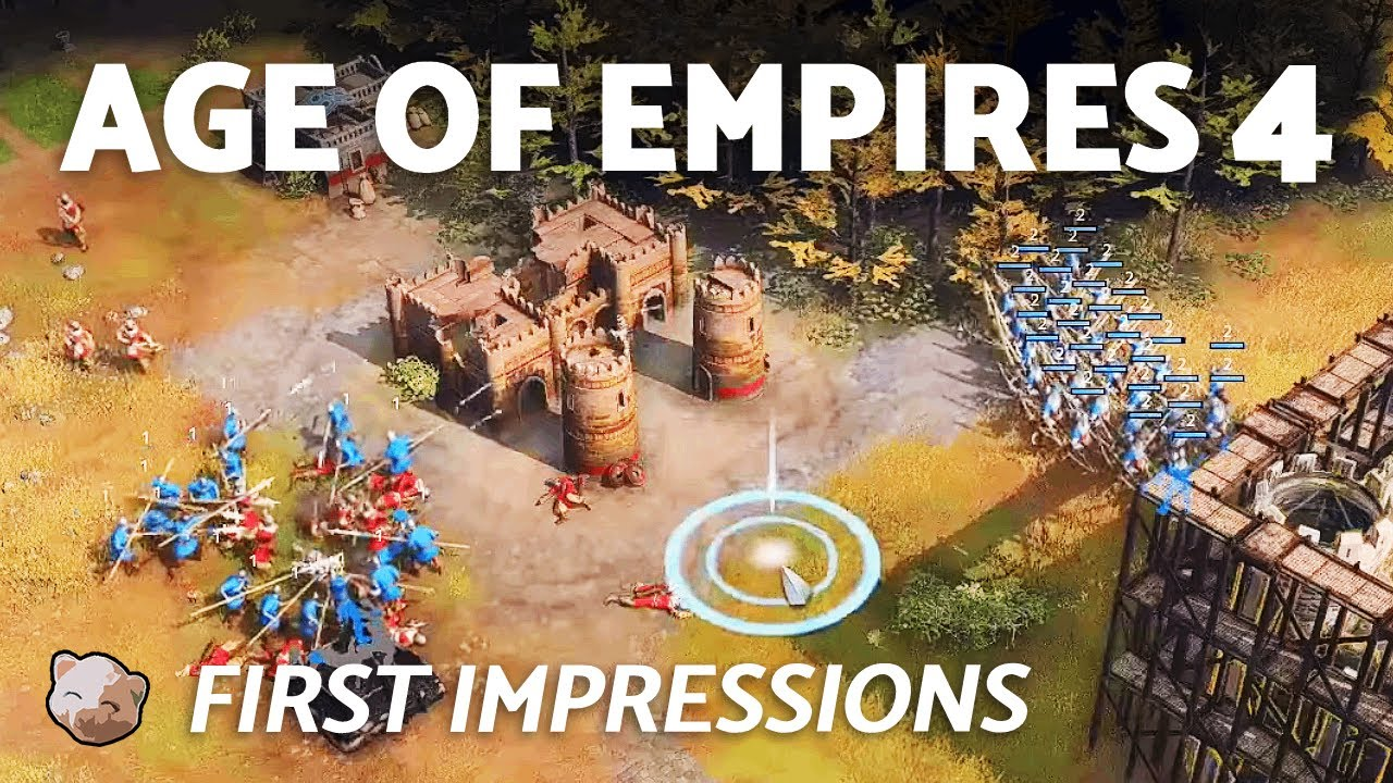 Age of Empires 4: First Impressions and Gameplay (Stress Test) - DING DING!