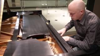 Paul Hamilton plays Bach: Chromatic Fantasy on the famous Horowitz Steinway