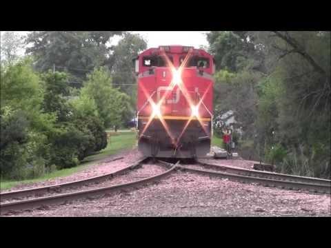 CN from Cedar Rapids to Winthrop,IA