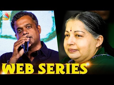 Guess Who Plays Jayalalitha in Gautham Menon's Web Series ?