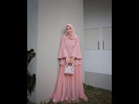 Model Kebaya Muslim Modern 2019 Inspirasi Kebaya Masa Kini