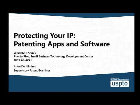 Patenting Apps and Software: U.S. Patent Practice