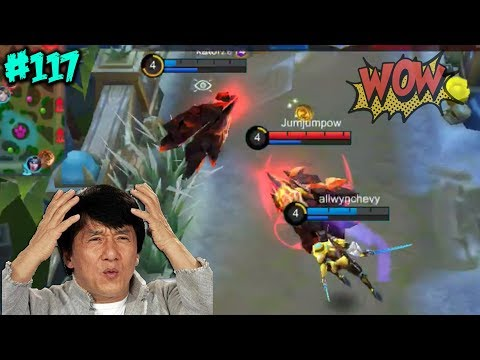 Mobile Legends WTF | Funny Moments Episode 117: Fanny-Super Hero