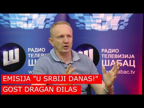 EMISIJA 'U SRBIJI DANAS!' // GOST DRAGAN ĐILAS // 15. 07. 2019.