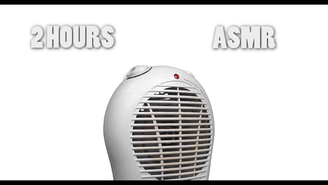 Relaxing Electric Heater Asmr Fan Sound White Noise Youtube