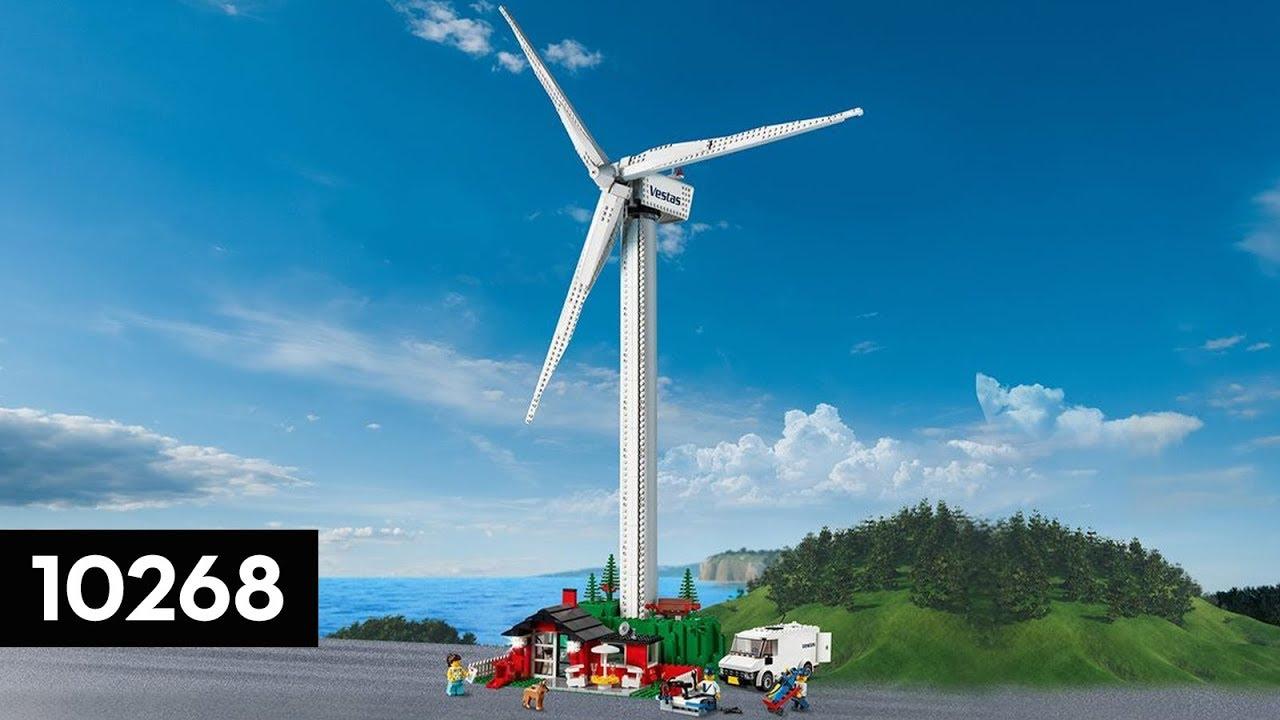 LEGO Creator - Vestas Wind Turbine - 10268 | How To Build Instructions