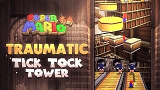Traumatic Tick Tock Tower (Super Mario 64 RomHack)