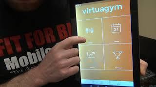 Virtuagym Fitness Tracking Basic App Instruction screenshot 3