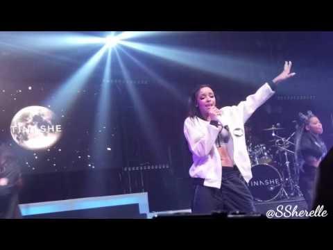 Tinashe Performing