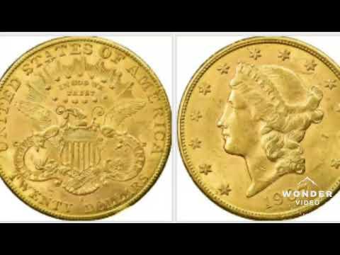 USA 1907 Gold Head $20 Coin Worth $2,000,000
