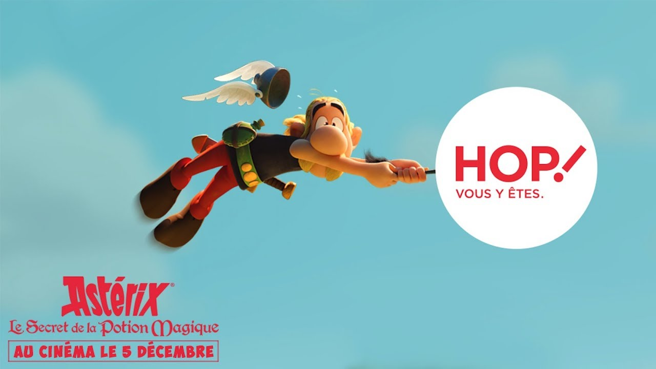 HOP! x Astérix - The Secret of the Magic Potion _ Spot 1 - Busterwood