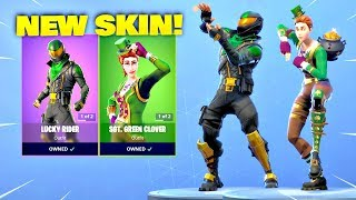 *NEW* ST. PATRICK'S DAY SKINS! Fortnite ITEM SHOP [March 16, 2019] | Fortnite Battle Royale