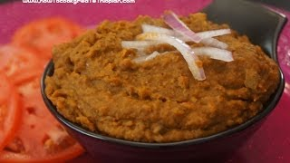 Ethiopian Food - Vegan Spicy Mushroom & Mung Bean Pate recipe