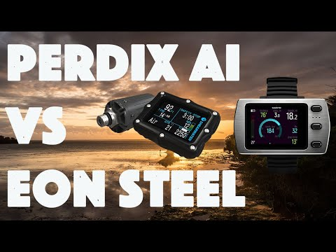 """Shearwater Perdix Air Integrated Vlog """"User Test & Conclusion"""" vs Suunto EON Steel in Chale Island"""