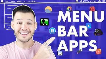 Menu Bar Apps for Mac OS