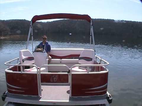 2010 Gill Getter 713 Fish N Cruise Pontoon With Torqeedo 4.0 Cruise VIDEO 2