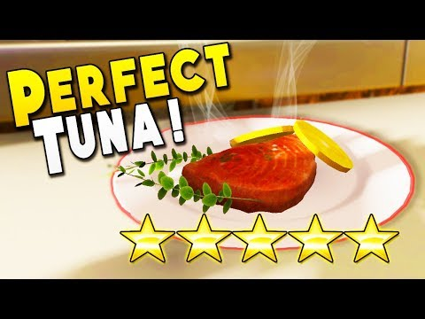 Perfect 5 STAR Tuna Leaves Mouths Watering : Cooking Simulator Gameplay