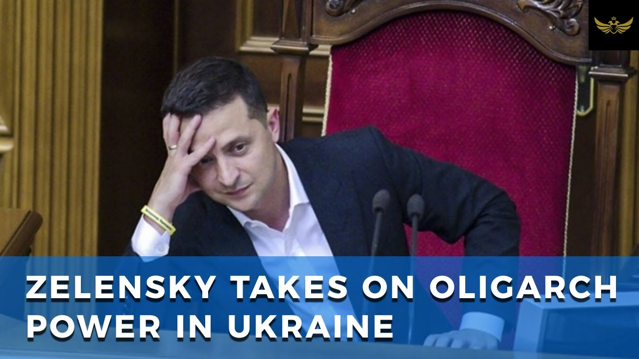 Zelensky fights powerful oligarchs now emboldened by Ukrainegate hoax