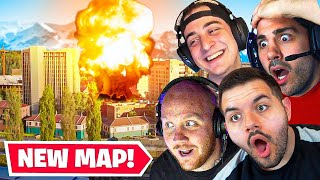 STREAMERS REACT TO THE NEW WARZONE MAP! (Live Reaction)