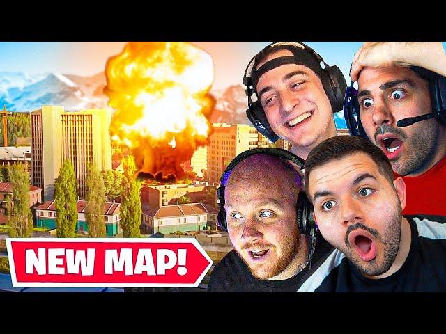 🔴 NEW WARZONE MAP! NEW WARZONE EVENT W/ TIMTHETATMAN, NICKMERCS & CLOAKZY
