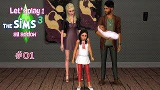 Les SIMS 3 - Let's Play 1 #01 Une famille peu ordinaire !
