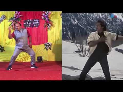 Dancing Uncle Vs Govindaडब्बू अंकल के आगे तो फिल्म स्टार भी फेल हैं