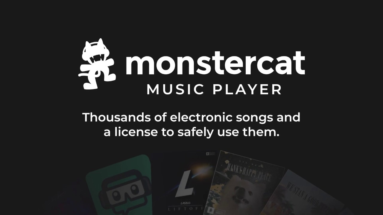 Monstercat Music Player | Safely License Music For Your Streams! |  Streamlabs App Store