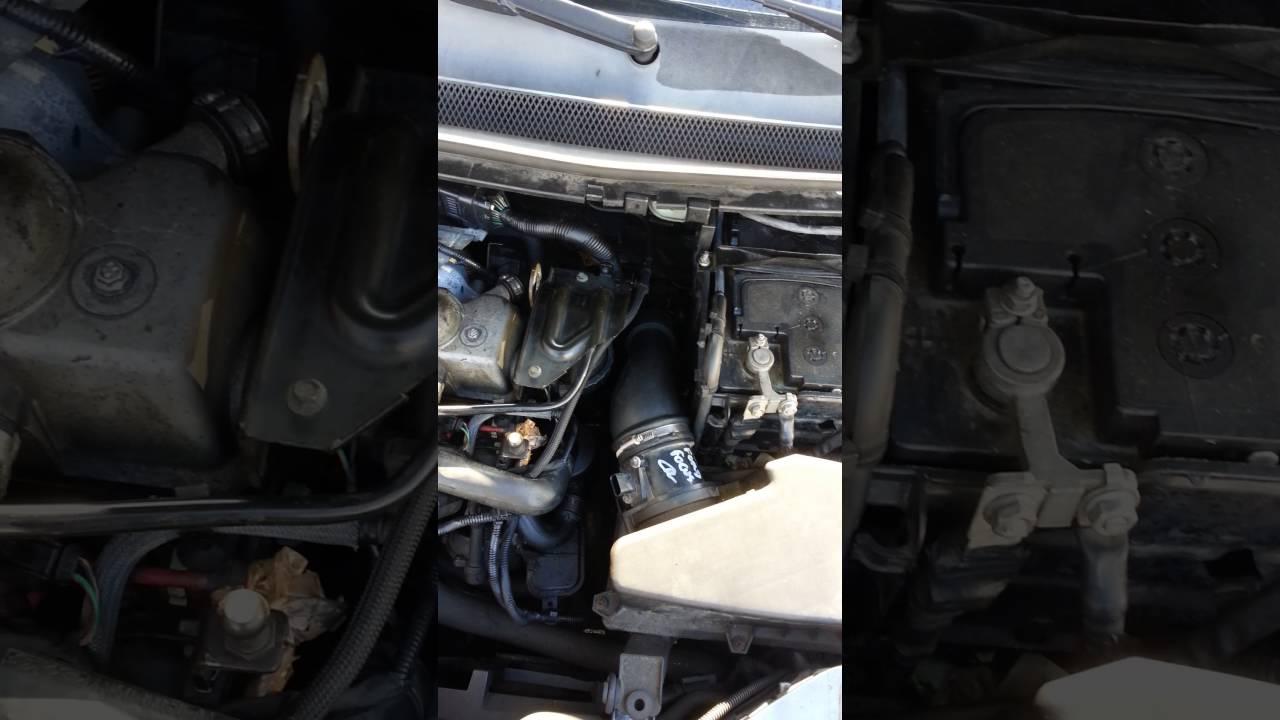 Remplacer le d bimetre d une ford focus tdci 1