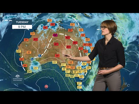 Weekly Weather From The Bureau Of Meteorology: Sunday 9 February