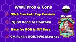 WINC's Two Faced (4/26): CM Punk vs Joe II, NWA Crockett Cup Preview, NJPW Reviews, WWE & More